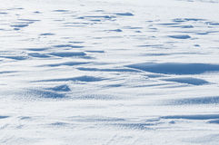 Dazzling white snow surface Royalty Free Stock Photo