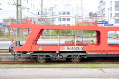 DB Autozug Стоковое Фото