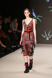 DB Berdan Catwalk in Mercedes-Benz Fashion Week Istanbul Stock Images