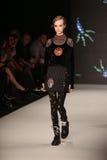 DB Berdan Catwalk in Mercedes-Benz Fashion Week Istanbul Stock Photography