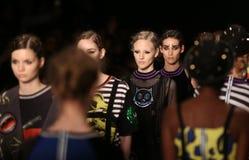 DB Berdan Catwalk in Mercedes-Benz Fashion Week Istanbul Royalty Free Stock Photo