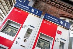 DB bileta maszyny Obraz Stock