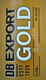 DB Export Gold Beer Royalty Free Stock Photo