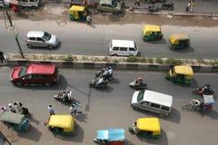 City Streets of Delhi India Stock Photo