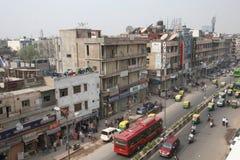 City Streets of Delhi India Stock Photos
