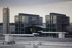 Hauptbahnhof in Berlin Royalty Free Stock Photography