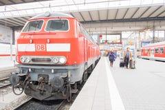 DB locomotive Royalty Free Stock Photo