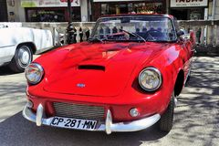 DB Panhard Le Mans red made from 1959 to 1962 Stock Photo