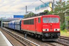 DB pociąg towarowy Obrazy Royalty Free