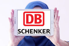 DB Schenker postal shipping company logo Royalty Free Stock Images