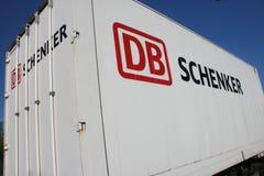 DB Schenker trailer Royalty Free Stock Image