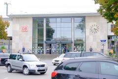 DB station Rosenheim Stock Photo