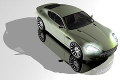 DB9 model Stock Photography