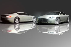 DB9 model Royalty Free Stock Image