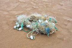 Débris marins Photographie stock