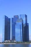 DBS bank cityscape Singapore Stock Image