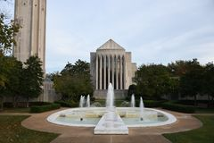 dc喷泉华盛顿 图库摄影