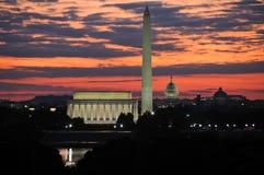 dc地平线华盛顿 图库摄影