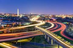 DC地平线 图库摄影