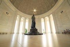 dc杰斐逊纪念托马斯・华盛顿 库存图片