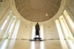 dc杰斐逊纪念托马斯・华盛顿 库存照片