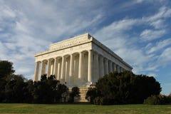dc林肯纪念品华盛顿 库存图片