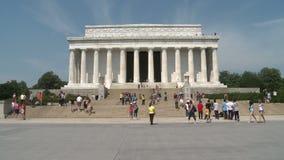 dc林肯纪念品华盛顿 股票视频