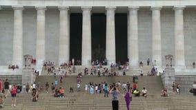 dc林肯纪念品华盛顿 影视素材