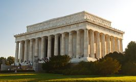 dc林肯纪念品 免版税库存照片