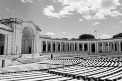DC的阿灵顿纪念圆形露天剧场 库存照片