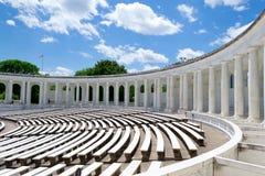 DC的阿灵顿纪念圆形露天剧场 库存图片
