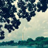 dc纪念碑华盛顿 免版税库存照片