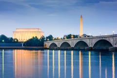 dc纪念碑华盛顿 免版税库存图片
