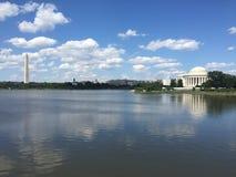 DC纪念碑 库存照片