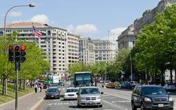 dc街市业务量华盛顿 库存照片