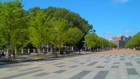 DC Вашингтона бульвара Пенсильвании видеоматериал