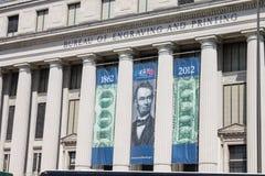 DC Вашингтона бюро гравирования и печати Стоковое Изображение