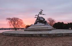 DC Вашингтона Военно-морск-купца морской мемориальный Стоковое фото RF