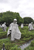 DC Вашингтона, 5-ое августа: Мемориал Корейской войны от округа Колумбия Вашингтона Стоковые Изображения RF
