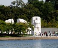DC памятника Мартина Лютера Кинга стоковая фотография