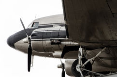 DC-3飞机 图库摄影
