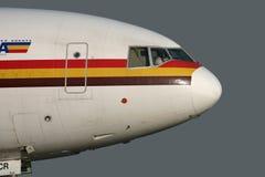 DC-10 roulant au sol à l'extérieur Photographie stock libre de droits