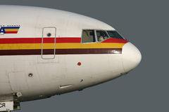 DC-10 taxiing out Royalty Free Stock Photography