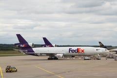 DC-10 van Fedex McDonnell Douglas vliegtuig Royalty-vrije Stock Afbeelding