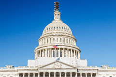 国会大厦dc我们华盛顿 图库摄影