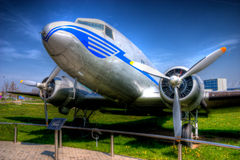 DC-3 Dakota Exhibit Royalty Free Stock Photography