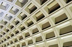 dc地铁墙壁华盛顿 免版税库存照片