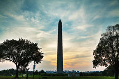 Памятник Вашингтона мемориальный в Вашингтоне, DC Стоковая Фотография RF