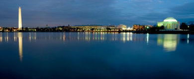 dc地平线华盛顿 库存图片