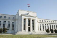 вашингтон США Федеральной Резервной системы dc банка Стоковые Изображения RF